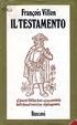Cover of Il testamento
