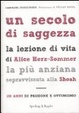 Cover of Un secolo di saggezza.
