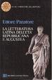 Cover of La letteratura latina dell'età repubblicana e augustea