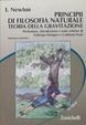 Cover of I principi di filosofia naturale
