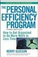 Cover of The Personal Efficiency Program