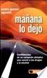 Cover of Mañana lo dejo