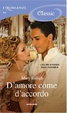 Cover of D'amore come d'accordo