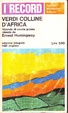 Cover of Verdi colline d'Africa