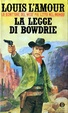 Cover of La legge di Bowdrie