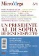 Cover of MicroMega 5/2012 - Un presidente al di sopra di ogni sospetto