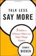 Cover of Talk Less, Say More