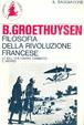 Cover of Filosofia della Rivoluzione francese