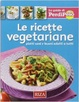 Cover of Le ricette vegetariane
