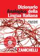 Cover of Dizionario Analogico della Lingua Italiana