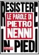 Cover of Resistere in piedi