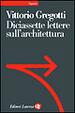 Cover of Diciasette lettere sull'architettura