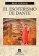 Cover of El esoterismo de Dante