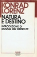 Cover of Natura e destino