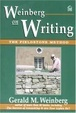 Cover of Weinberg on Writing