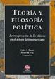 Cover of Teoría y filosofía política