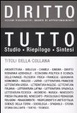 Cover of Tutto diritto