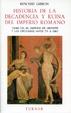 Cover of Historia de la decadencia y ruina del Imperio romano. Tomo VII