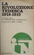 Cover of La rivoluzione tedesca 1918-1919