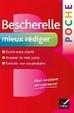 Cover of Bescherelle poche: mieux rédiger