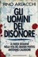 Cover of Gli uomini del disonore
