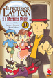 Cover of Il professor Layton e i misteri buffi vol. 1