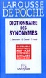 Cover of Dictionnaire des Synonymes (French Edition)
