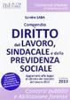 Cover of Compendio di diritto del lavoro, sindacale e dalla previdenza sociale