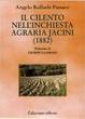 Cover of Il cilento nell'inchiesta agraria Jacini (1882)