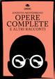 Cover of Opere complete e altri racconti