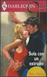 Cover of Sola con un extraño