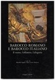 Cover of Barocco romano e barocco italiano