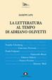 Cover of La letteratura al tempo di Adriano Olivetti