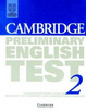 Cover of Cambridge Preliminary English Test 2 Student's Book