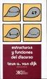 Cover of Estructuras y funciones del discurso
