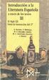 Cover of Introducción a la literatura española a través de los textos, T. III