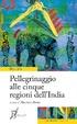 Cover of Pellegrinaggio alle cinque regioni dell'India