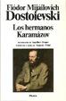 Cover of Los hermanos Karamázov