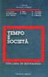 Cover of Tempo e società