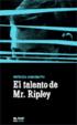Cover of El talento de Mr. Ripley