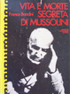 Cover of Vita e morte segreta di Mussolini
