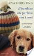 Cover of Il bambino che parlava con i cani