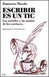 Cover of Escribir es un tic