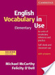 Cover of English Vocabulary in Use Elementary with Answers