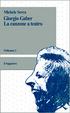 Cover of Giorgio Gaber - La canzone a teatro