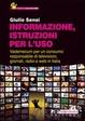 Cover of Informazione, istruzioni per l'uso