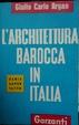 Cover of L'architettura barocca in Italia