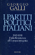 Cover of I partiti politici italiani