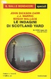Cover of Le indagini di Scotland Yard