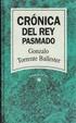 Cover of Crónica del rey pasmado